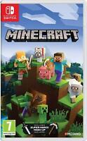 Minecraft Nintendo switch jeux neuf sous blister livraison rapide et gratuite FR