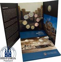 KMS Malta 2017 Hagar Qim Tempel Kursmünzensatz 1 Cent bis 2 Euro Mzz F im Folder