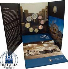 KMS Malta 2017 Hagar Qim Tempel Kursmünzensatz 1 Cent - 2 Euro Mzz F im Folder