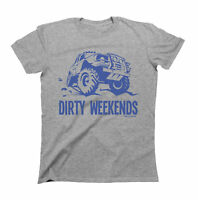 Dirty Weekends T-Shirt Mens 4 x 4  Jeep Off Road Land Rover Style Car Gift