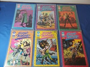 Slash Maraud (1987) Complete 6 Part Mini-Series By Moench & Gulacy VF+