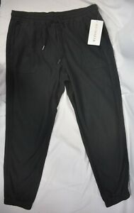 NWT $98 Athleta Many Sizes Black Farallon Jogger Pants Commute Travel #531090