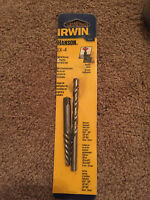 NEW IRWIN HANSON EX-3 SPIRAL SCREW EXTRACTOR AND DRILL SET!