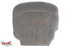 1999-2002 Chevy Silverado LS LT Z71 -Driver Side Bottom Cloth Seat Cover Gray