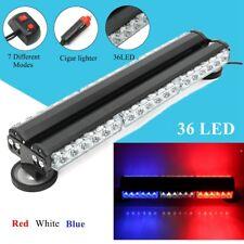 36 LED Car Truck Police Emergency Strobe Light Bar Warning Traffic Advisor Flash