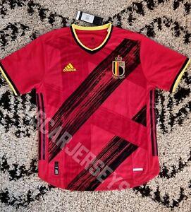 Maillot Jersey équipe de Belgique domicile national 2021 Adidas Heat.rdy Player