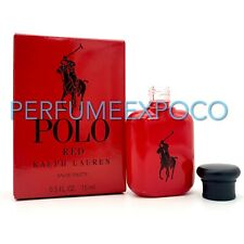 Polo Red by Ralph Lauren Men COLOGNE 0.5oz/15ml EDT Travel Mini Sample Size (C77
