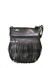 Recycled Tyre Fringe Shoulder Bag Fair Trade Handmade in Cambodia