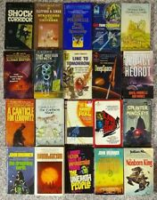 Lot of 20 - Paperback Science Fiction Books - Various Authors - Vg/Ex