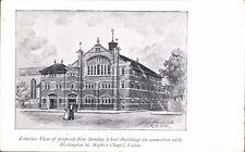 Luton. Sunday School & Wellington St Baptist Chapel. George Paines Architects.