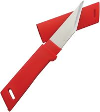"KANETSUNE JAPAN 6.5"" OVERALL KIRIDASHI KNIFE w STAINLESS BLADE, PLASTIC, KB614"