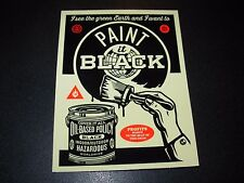 SHEPARD FAIREY Obey Giant Sticker 1.5X4 RISE ABOVE BANNER art like poster print