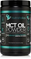 MCT Oil Powder - Perfect for Coffee Shakes Smoothies - 12 oz 34 servings - KETO