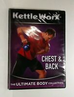 KettleWorx Chest & Back Workout DVD  Ultimate Body Collection-NEW SEALED !!
