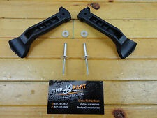 SKI DOO NEW HOOD STRAP PANEL LATCH KIT REV MXZ GSX GTX OEM 517302448 TWO STRAPS