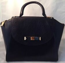 Ted Baker Bow Bowler Leather Maxi Tote Bag Black RRP£249 Clearance