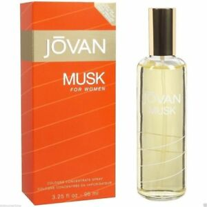 JOVAN MUSK COLOGNE CONCENTRATE COLOGNE SPRAY FOR WOMEN WITH FREE SHIPPING- 96 ML