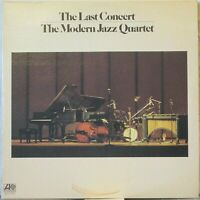 THE MODERN JAZZ QUARTET The Last Concert 2-LP Set on Atlantic-USA (1975)
