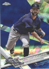 TYLER CHATWOOD 2017 TOPPS CHROME SAPPHIRE EDITION #311 ONLY 250 MADE