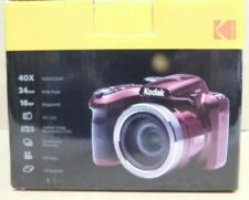 kodak Pixpro Az401 Digital Camera-40x Optical Zoom-Red