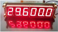 PLJ-6LED-A RF Signal Frequency Counter Cymometer Tester 0.1 MHz ~ 65 MHz Red
