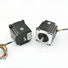 Nema23 Dual Shaft 1a181oz In Hybrid Stepper Motor 23hs22ds