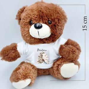 Personalised teddy bear Photo teddy bear name teddy bear Christmas Birthday