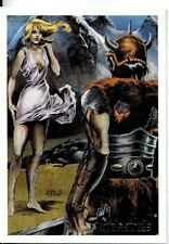 Conan Art Of The Hyborian Age Savage Sisterhood Chase Card S6
