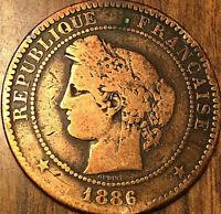 1886 A FRANCE 10 CENTIMES CÉRÈS RÉPUBLIQUE FRANÇAISE