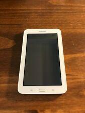 Samsung Galaxy Tab 3 Lite SM-T110 8GB, WiFi, 7in-White w/32GB MicroSD & 2 Cases