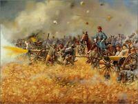 Maritato Signed Civil War Limited Edition Art Print The Boy Major Gettysburg