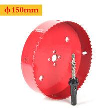 HSS M42 100mm-150mm Lochsägen Bohrkronen Metall Wood ABS Lochsäge Cutter Sah