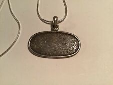 FREE UK P/&P CG0386...STERLING SILVER TREE OF LIFE PENDANT /& CHAIN
