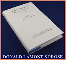 PROSE WRITINGS OF DONALD LAMONT (1874-1958)SCOTTISH GAELIC IDIOM-1988*TIREE*FINE