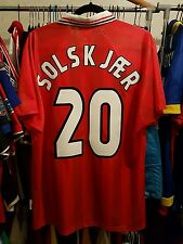 Norway Football Shirt Solskjaer 20 France 98 Large