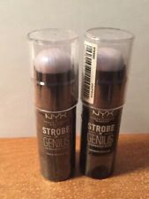 Lot of 2 NYX Strobe Of Genius Holographic Stick Electric Invasion Highlight