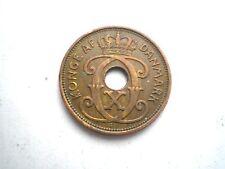 Moneda de principios de 2 Ore De Dinamarca fechado 1931-Bonito