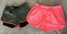 Champion Womens juniors shorts size small medium pink grey exercise running walk