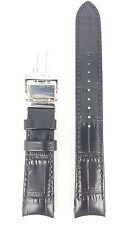 Original Seiko Premier Black Strap 7D48-0AA0 Watch Band SNP005P1 SNP005J1 SNP005