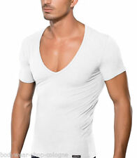 Cotton Blend V Neck Fitted Big & Tall T-Shirts for Men