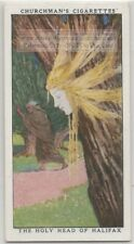 The Holy Head Of Halifax Father Aeldred Yorkshire England 1930s Trade Card