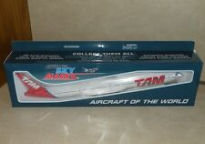 1:200 Skymarks TAM Brazil Boeing 777-30 model plane with gears and stand