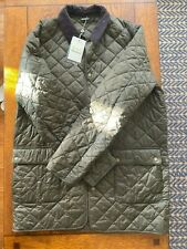 Barbour Thurland Quilted Jacket - Olive - Men's Size XL