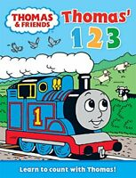 (Good)-Thomas' 123: Learn to Count with Thomas (Thomas & Friends) (Board book)--