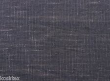 "Hemp Woven Jacquard Fabric Black and Dusty Pink Box Design 57""W 9/15"