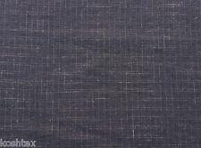 "Hemp Woven Jaquard Fabric Black and Dusty Pink Box Design 57""W 9/15"