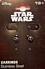 Official Licensed Earrings Set - Disney Star Wars Episode 8. BB9E 3D. New.