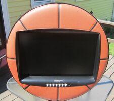 """Rare Hannspree 28"""" LCD Basketball Television 10 ft Cord HDMI Ports/VGA/USB 1080P"""