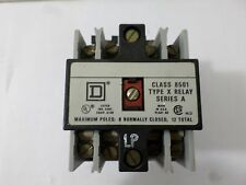 Square D 8501 X0 20 Relay Series A W/ 120 V 60Hz Coil