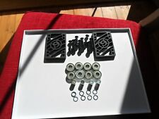 SECTOR 9 RISER PADS GREASEBALL ABEC 5 BEARINGS,DECK BOLTS SPACERS speedwashers